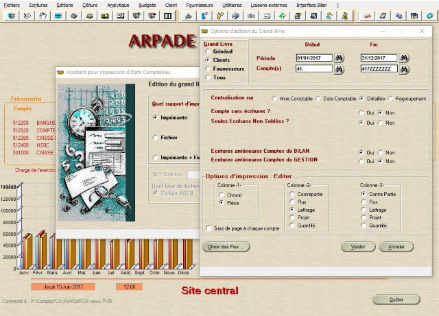 ARPADE Comptabilité - Pointage règlements